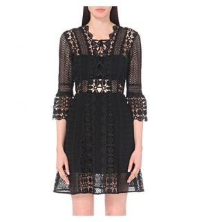 SELF PORTRAIT   Embroidered lace dress