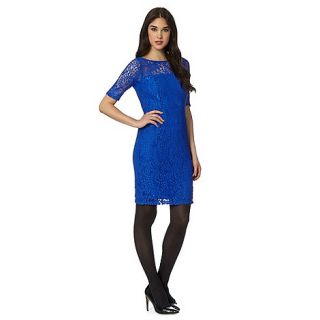 Red Herring Royal blue lace dress