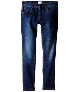 Fendi Kids Denim Pants with Eye Patch Detail on Back Pocket (Big Kids) Denim