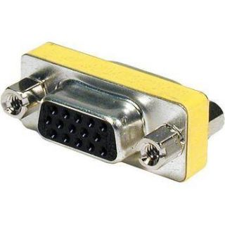 Comprehensive HD15J J Female VGA to Female VGA Adapter HD15J J