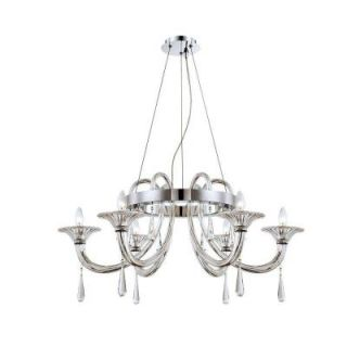 Shiraz Collection 6 Light Chrome Chandelier 25709 018   Mobile