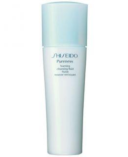 Shiseido Pureness Foaming Cleansing Fluid, 5 fl. oz   Skin Care