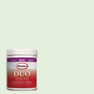 Glidden DUO 8 oz. #HDGG57 Frosty Mint Latex Interior Paint Tester HDGG57 08D