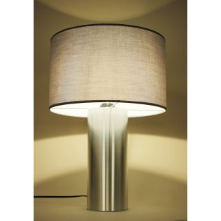 dCOR design Willis 20 H Table Lamp with Drum Shade