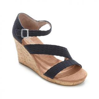 TOMS Clarissa Ankle Strap Wedge Sandal   8021890