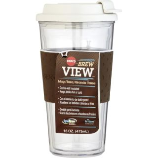 Copco 16 Oz. Brown Brew View Tumbler (2510 0187)   6 Pack   Mugs