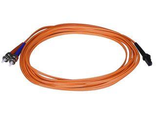 Fiber Optic Cable, MTRJ (Female)/ST, OM1, Multi Mode, Duplex   5 meter (62.5/125 Type)   Orange