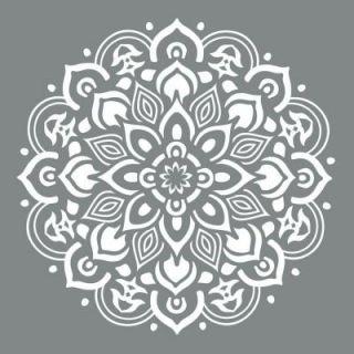 DecoArt Americana Decor 10 in. x 10 in. Mandala Stencil ADS505 B