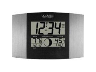 La Crosse Technologies WS 8117U IT AL Lc atomic digital wall clock