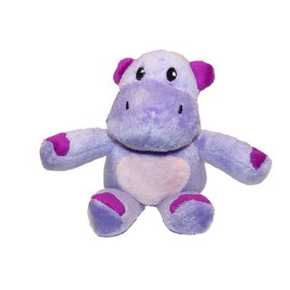 Me and Molly P. 5 inch Plush Purple Haley the Hippo Toy