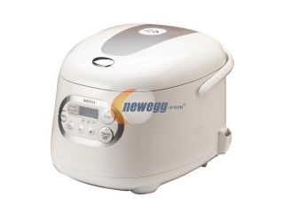 AROMA ARC 856 White Sensor Logic Rice Cooker & Food Steamer