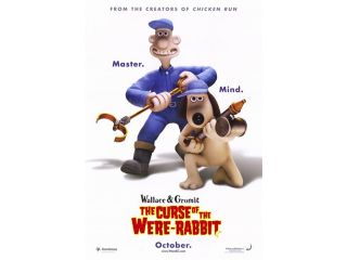 Wallace Gromit the Curse of the Were R Movie Poster (11 x 17)