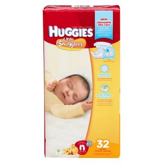 Huggies Little Snugglers Baby Diapers Jumbo Pack (Select Size)