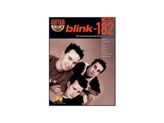 Hal Leonard Blink 182 Guitar Play Along Volume 58 Book and CD