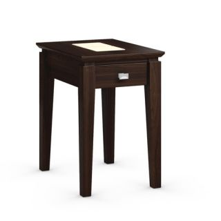 Galleon Chairside Table with Power Station by Caravel