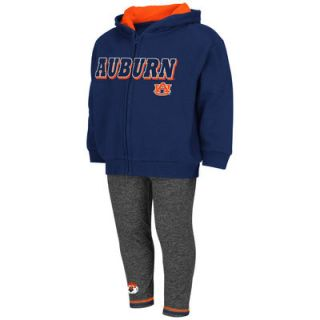 Auburn Tigers Colosseum Girls Youth Sweatshirt and Pant Set   Navy