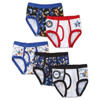 ® Turbo Boys 5 Pack Classic Brief   Assorted