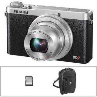 Fujifilm  XQ2 Digital Camera Basic Kit (Silver)