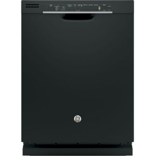 GE 51 Decibel Built In Dishwasher with Bottle Wash Feature and Hard Food Disposer (Black) (Common: 24 in; Actual: 23.75 in)