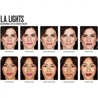 Smashbox L.A. Lights Blendable Lip & Cheek Color   Laurel Canyon Coral   7984843