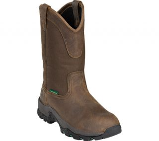 Mens John Deere Boots 11 Waterproof Non Metallic Pull On 4531