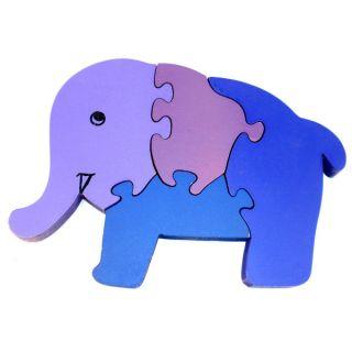 Wooden Elephant Puzzle (India)   16015410   Shopping
