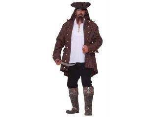 Costumes For All Occasions FM64097 Pirate Captain Xxxl 52 58