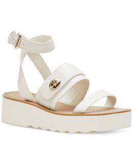 COACH Platt Flatform Sandals   Sandals   Shoes