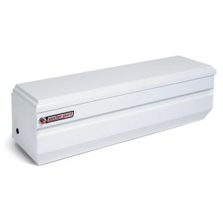 WEATHER GUARD 55 in x 20 in x 19.25 in White Steel Universal Truck Tool Box