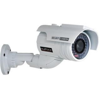 Solar powered Fake Indoor/Outdoor Security Camera with Flashing LED Light