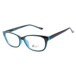 Ferra F3031 C4 Black Teal Prescription Eyeglasses