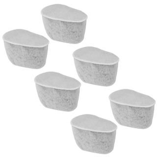 Krups F472 Duo Replacement Charcoal Water Filters  Set of 6 Total
