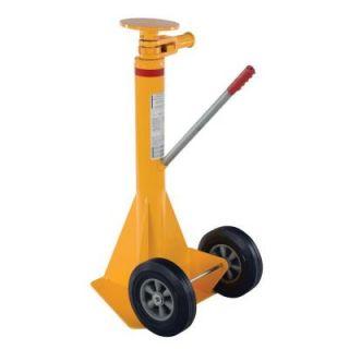 Vestil 40,000 lb. Spin Top Ratchet Stabilizing Jack SP TOP R