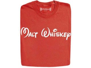 Stabilitees Malt Whiskey in Cartoon Characters Alcohol Related Funny Drinking T Shirts
