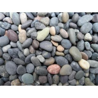 Butler Arts 1/4 in. to 1/2 in. Mixed Mexican Beach Pebble (2200 lb. Contractor Super Sack) BP MX14 2200 SS
