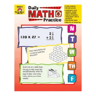Daily Math Practice Grade 6 Book