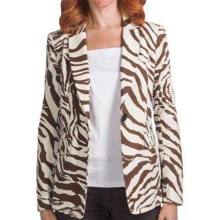 Lafayette 148 New York Antibes Canvas Cloth Mackenzie Jacket (For Women) 5973K