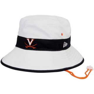 Virginia Cavaliers New Era Training Bucket Hat   White