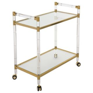 Duval Serving Cart by Safavieh