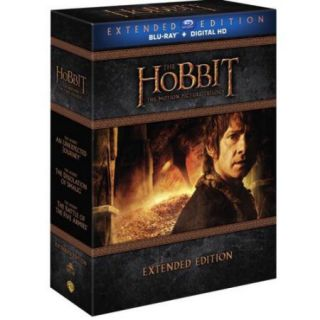The Hobbit: Motion Picture Trilogy (Extended Edition) (Blu ray + Digital HD With UltraViolet) (With INSTAWATCH) (Widescreen)