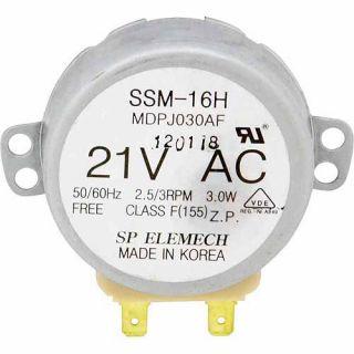 GE Microwave Turntable Motor, Grey