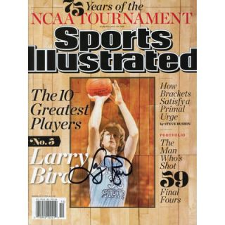 Larry Bird Boston Celtics  Authentic Autographed March 6, 2013 Sports Illustrated