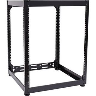 "Raxxess 15 RU S2 Series Equipment Rack (20"" Deep) NS2F1520"