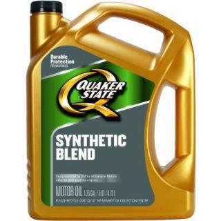 Pennzoil 5W 30 Synthetic Blend Motor Oil, 5 qt