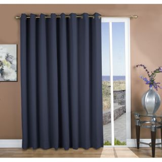 Ricardo Trading Ultimate Black Out Grommet Patio Single Panel Curtain