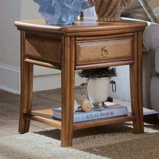 American Drew 931 915 Antigua End Table in Toasted Almond
