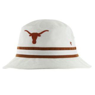 47 Brand Texas Longhorns Bucket Hat   White