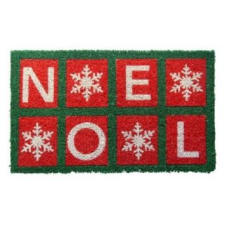 IUC International 1062S Noel Handwoven Coconut Fiber Doormat