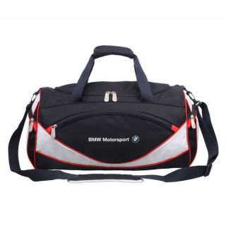 Travelers Choice BMJ 104 BMW Motorsports Sports Bag in Blue White