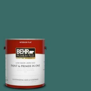 BEHR Premium Plus 1 gal. #M450 7 Beta Fish Flat Interior Paint 130001